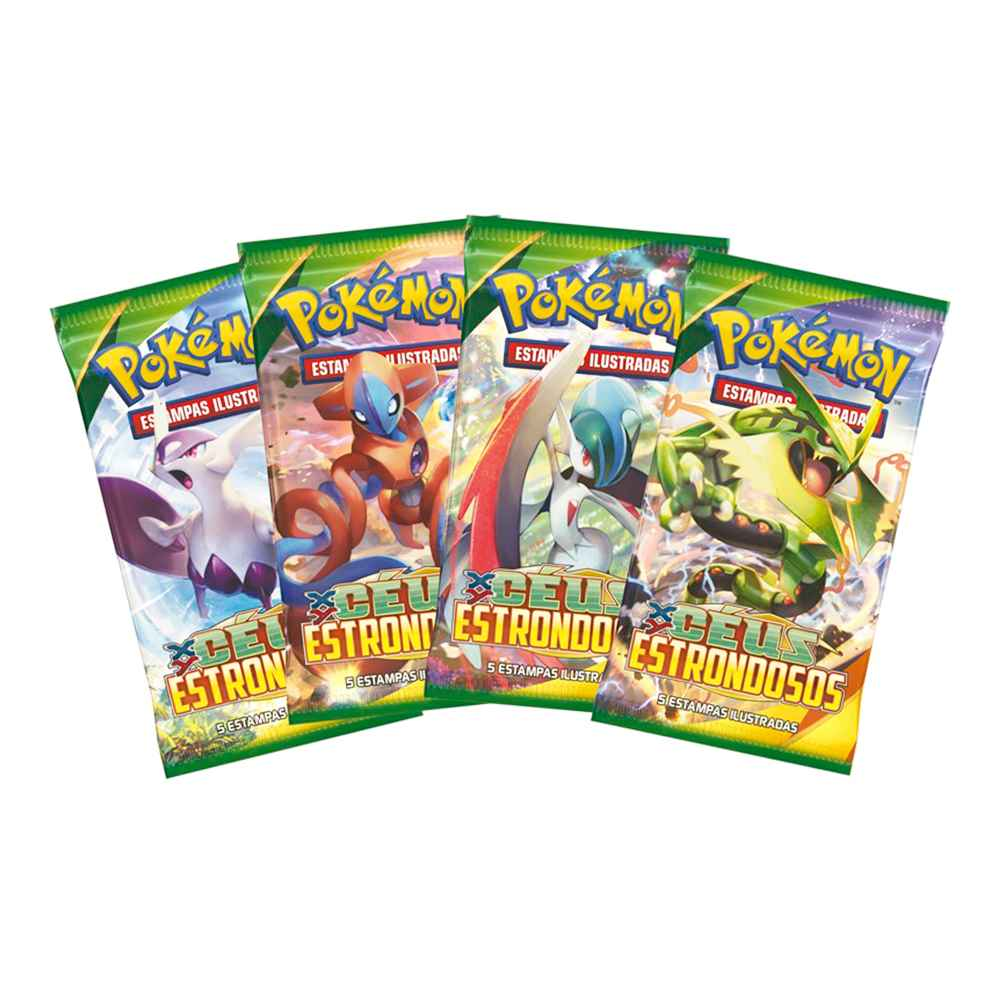 Pokemon XY6 Box Booster Céus Estrondosos