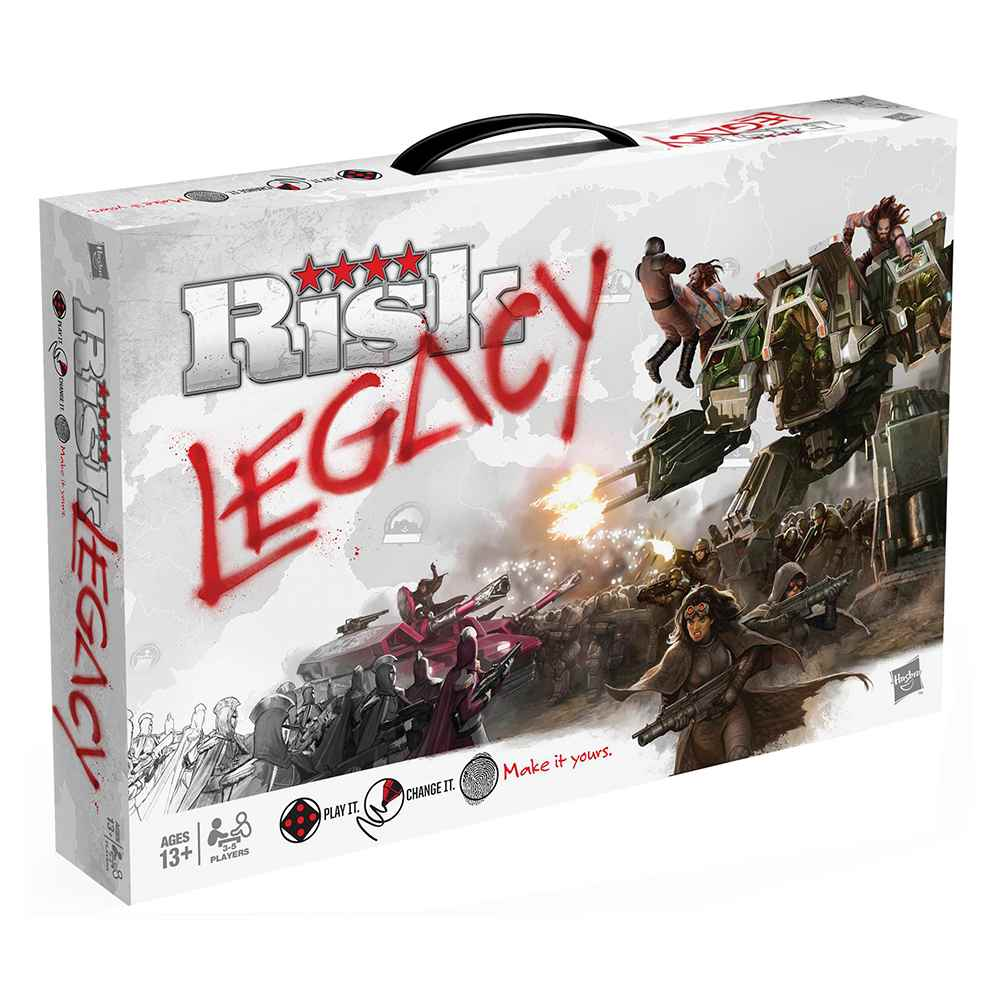 Risk Legacy Jogo de Tabuleiro