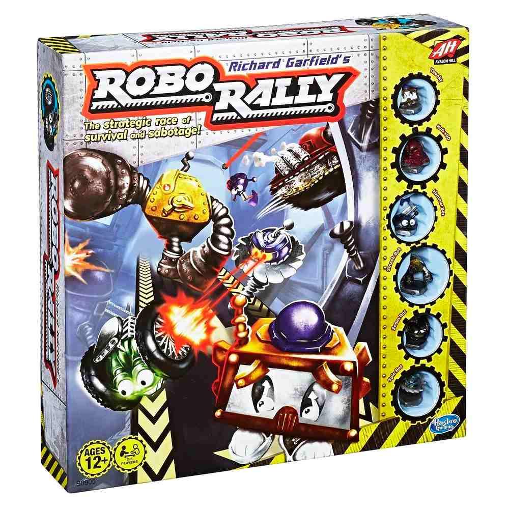 Robo Rally Hasbro Jogo de Tabuleiro