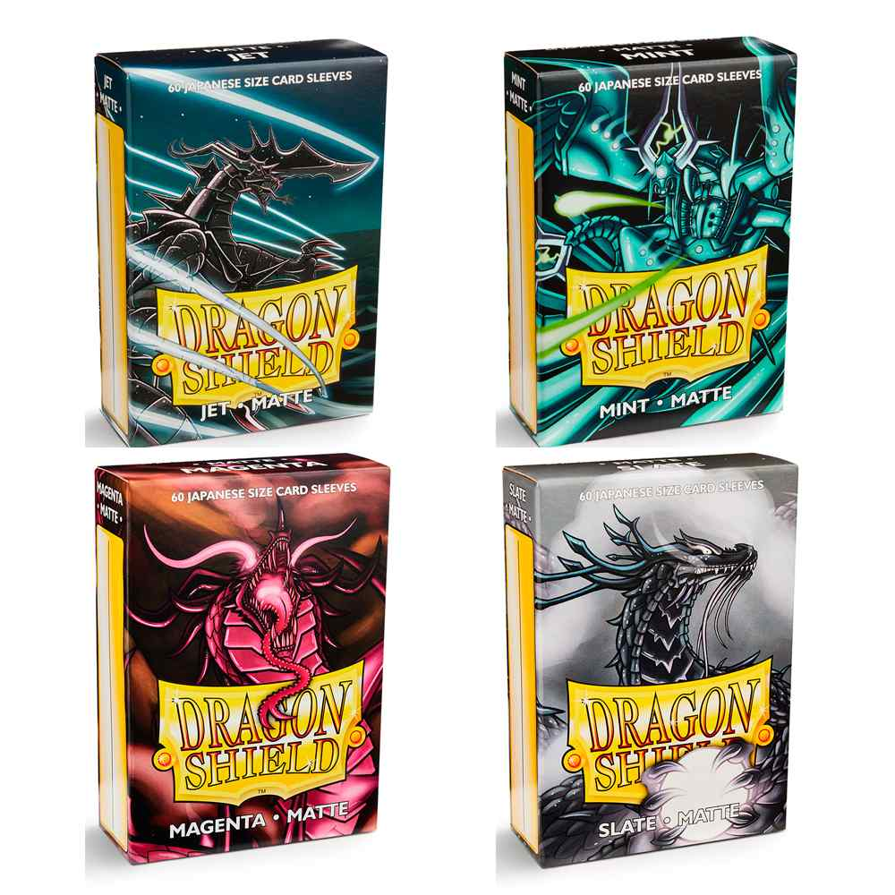 Sleeves Dragon Shield Matte 60 Protetores Yugioh