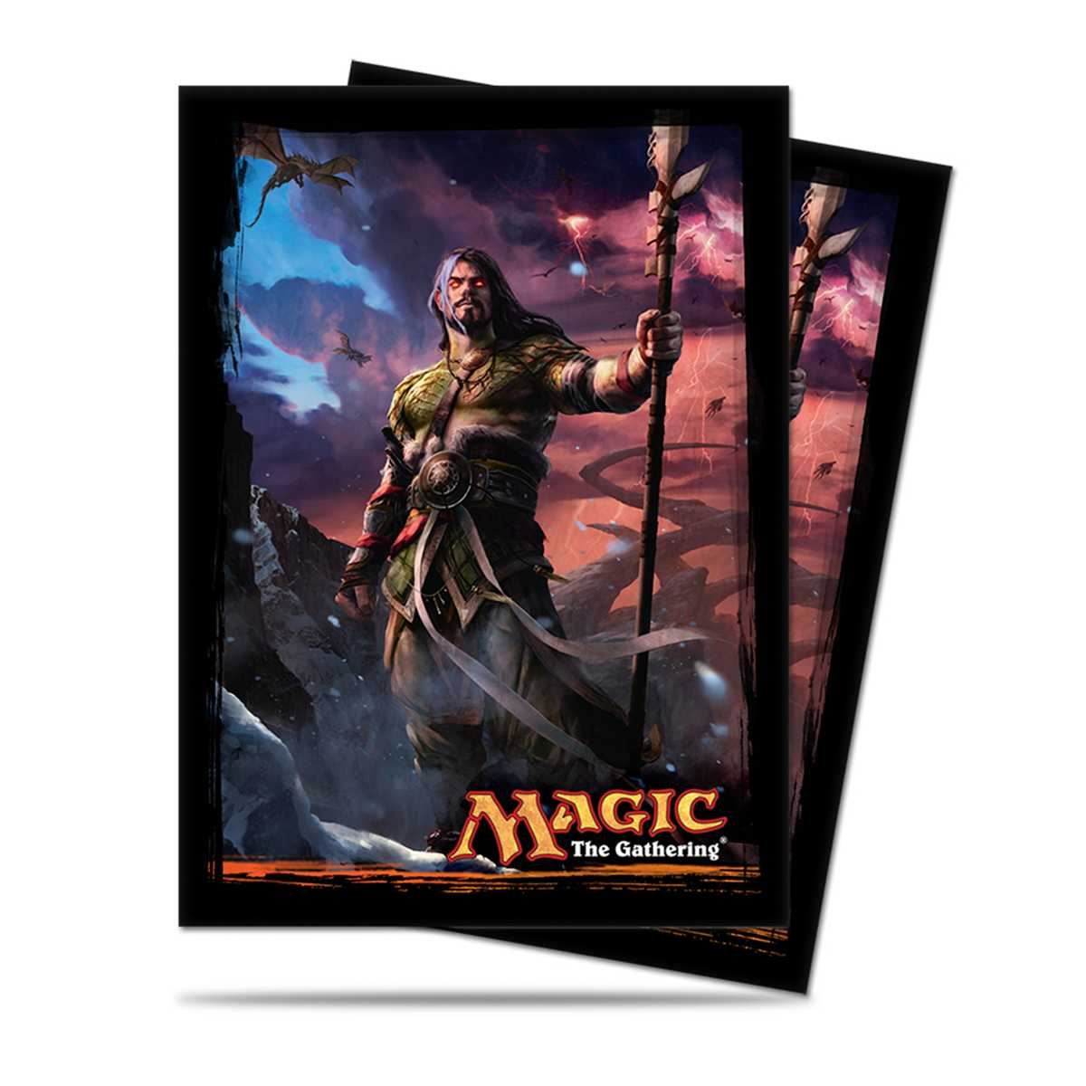 Sleeves Magic Ultra Pro Dragões de Tarkir Sarkhan