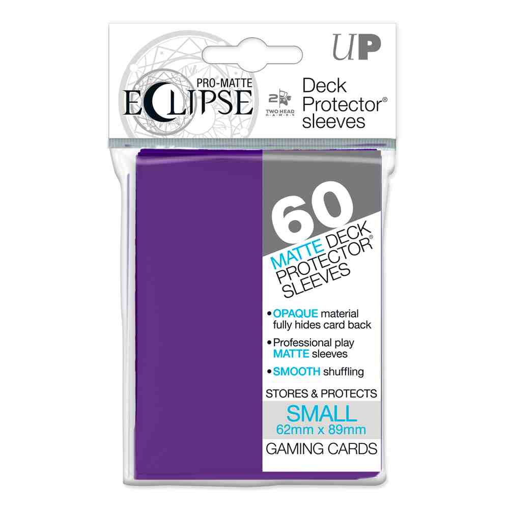 Sleeves Matte Eclipse Ultra Pro Yugioh 60 unidades