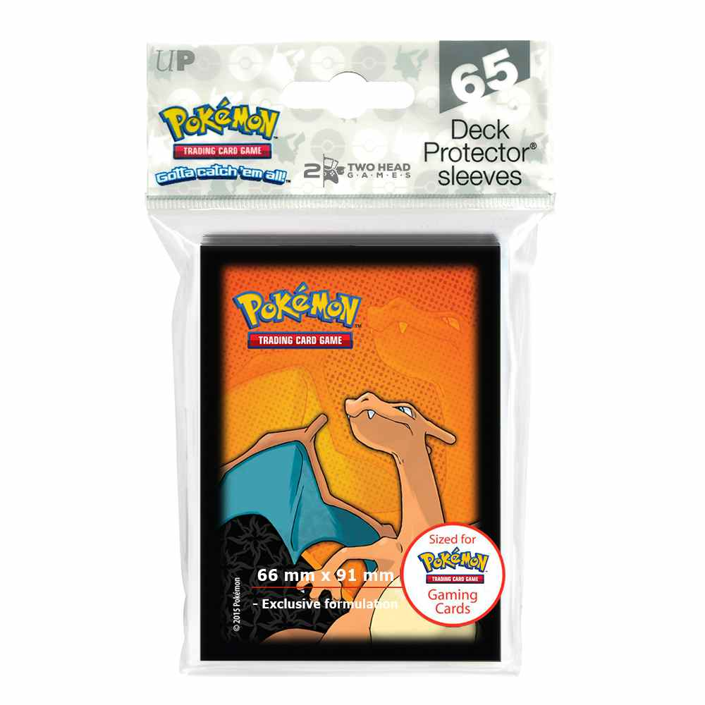 Sleeves Pokemon Charizard Ultra Pro 65 unidades