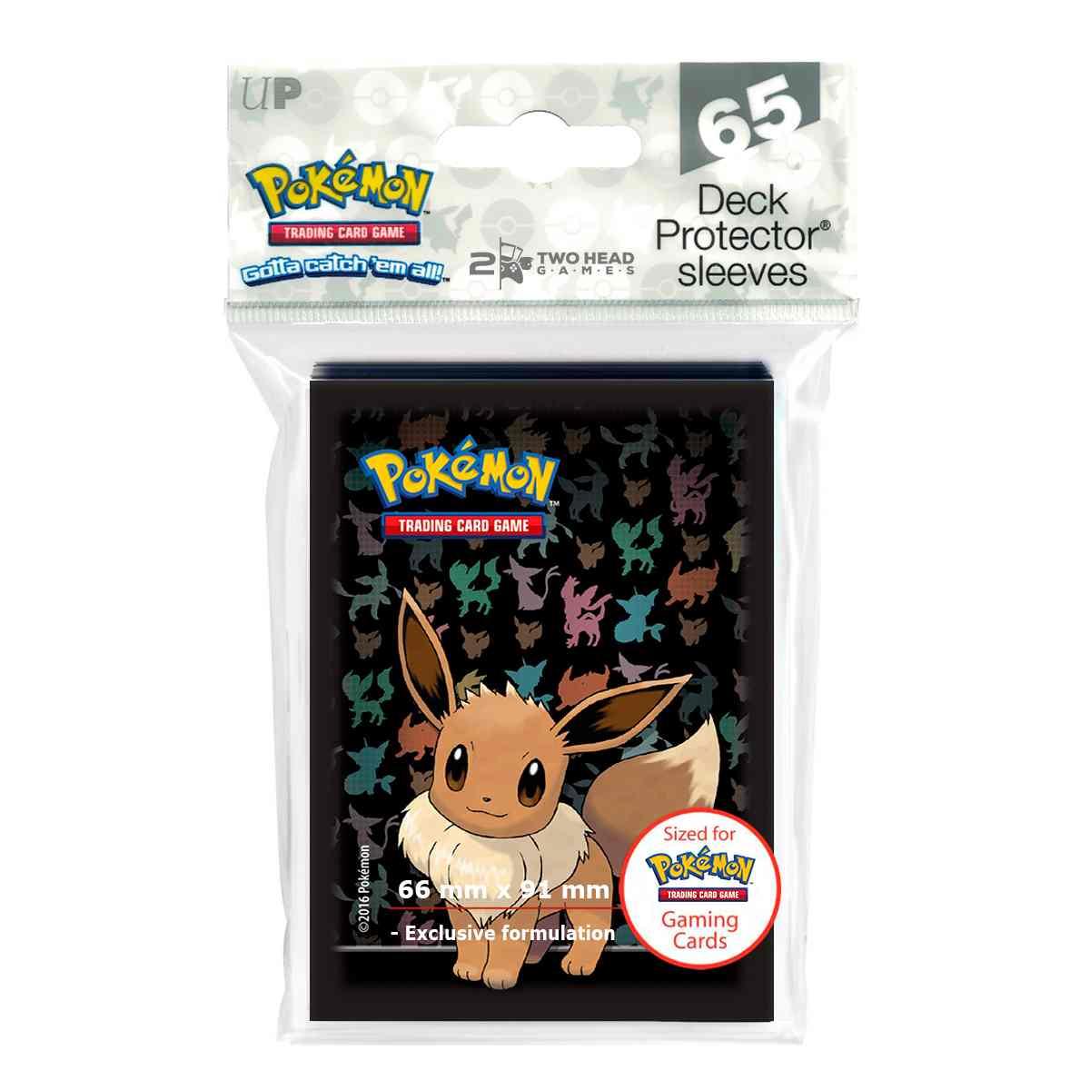 Sleeves Pokemon Eevee Ultra Pro 65 unidades