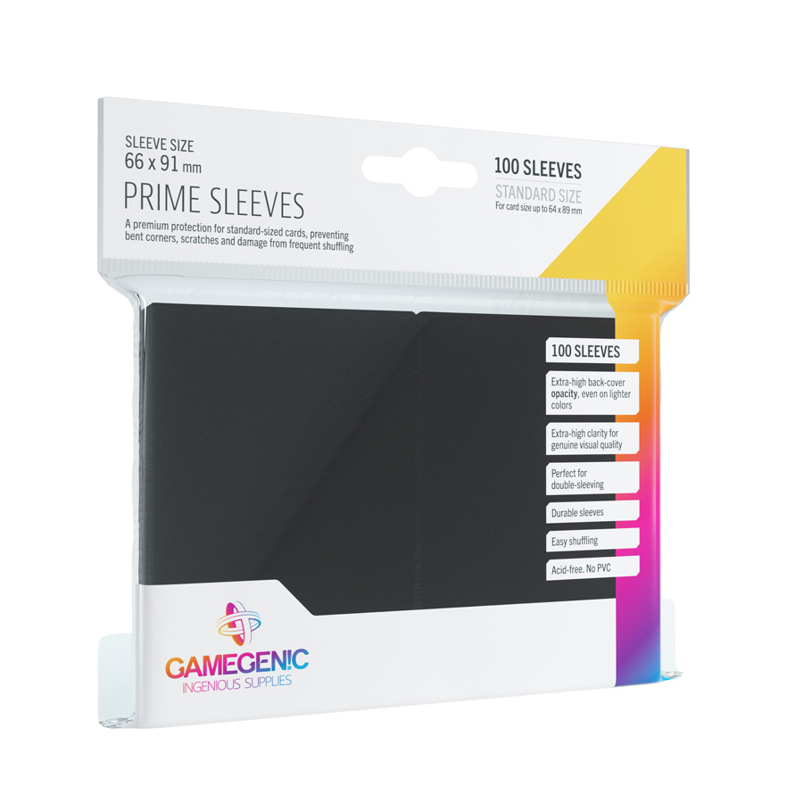 Sleeves Standard Prime 100 Unidades 66 x 91 Gamegenic
