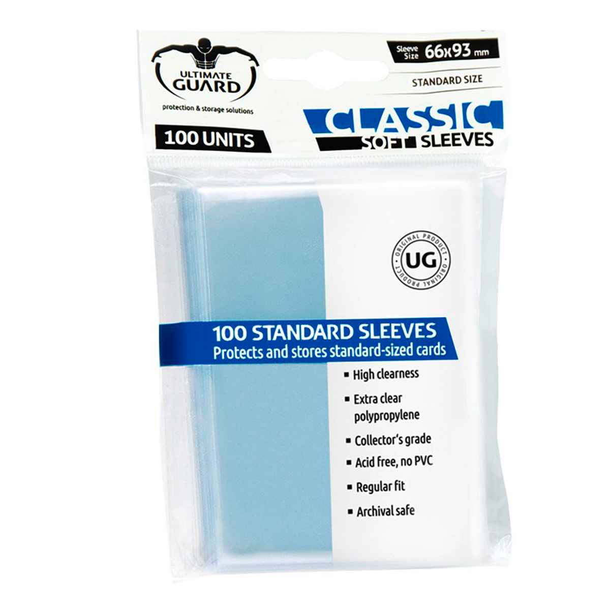 Sleeves Transparente Standard Classic Soft Ultimate
