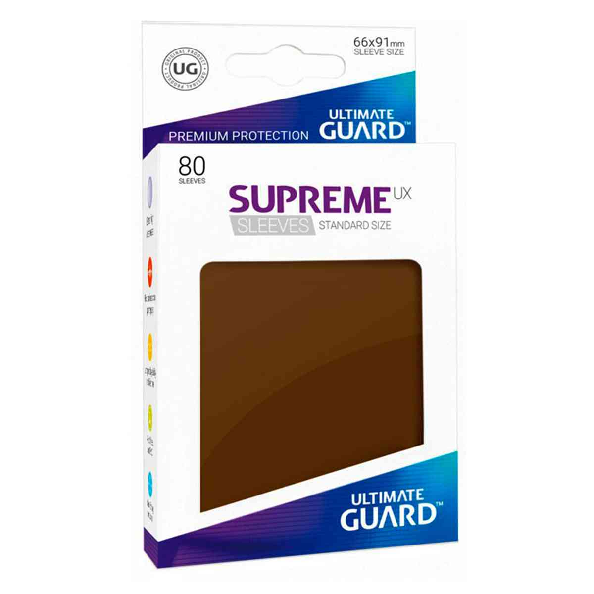Sleeves Ultimate Guard Supreme Preto 80 Protetores