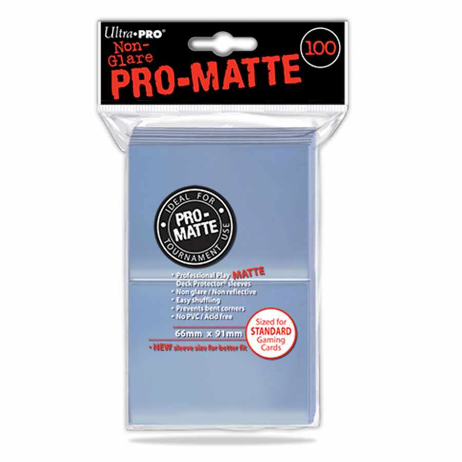 Sleeves Ultra Pro 100 unidades Pro Matte Standard