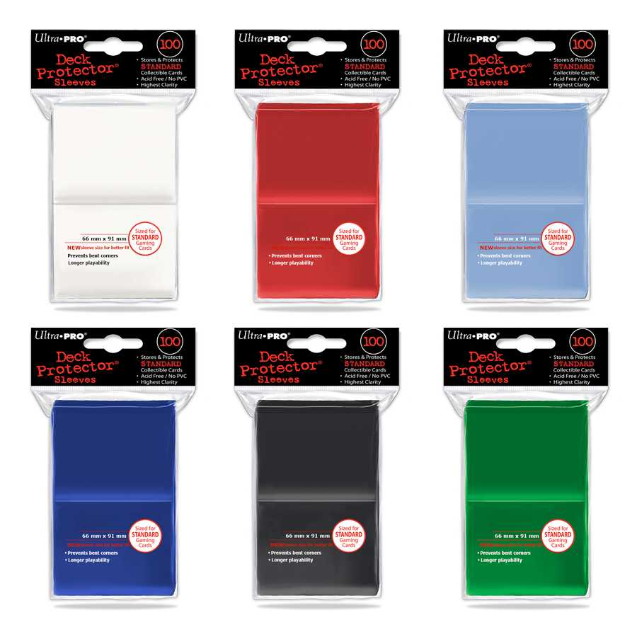 Sleeves Ultra Pro Standard 100 unidades