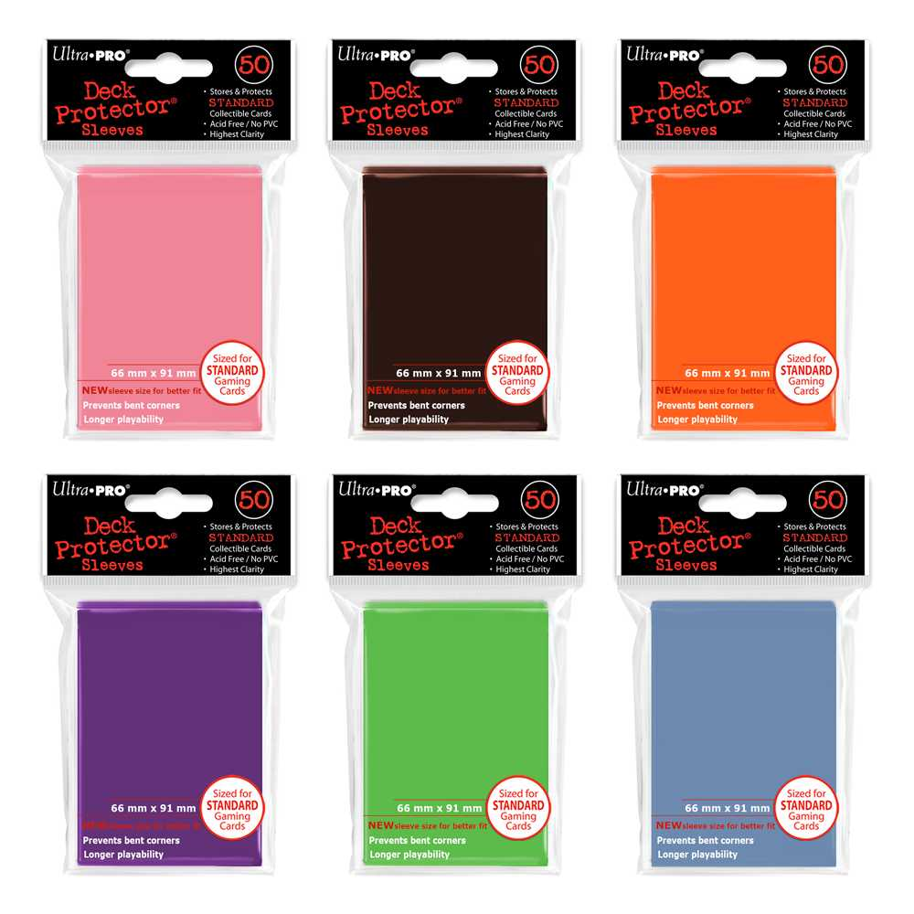 Sleeves Ultra Pro Standard 50 unidades
