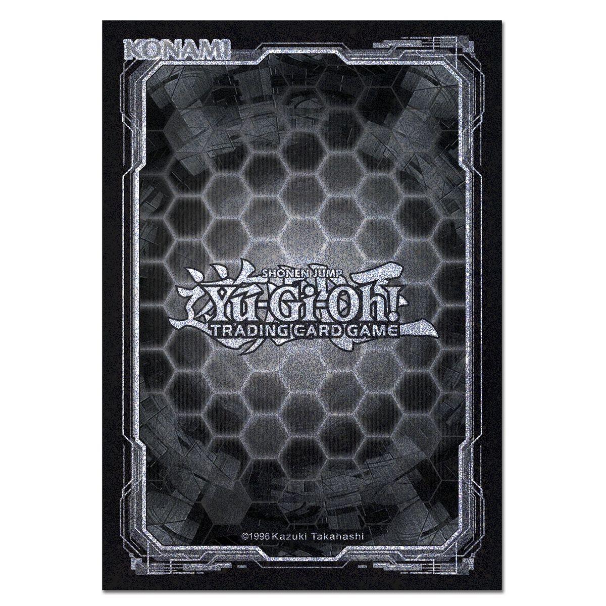 Sleeves Yugioh Dark Hex 50 Protetores Konami