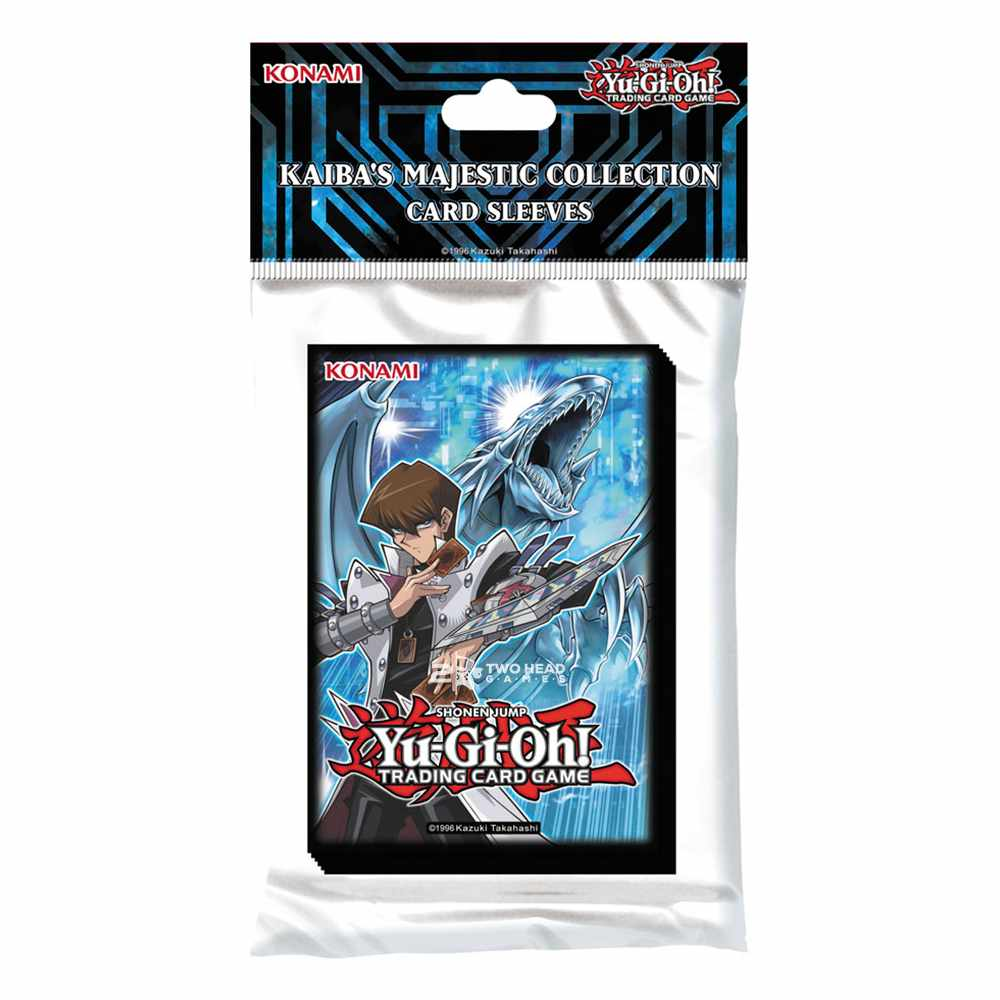 Sleeves Yugioh Kaiba Collection Protetores Dragão Branco