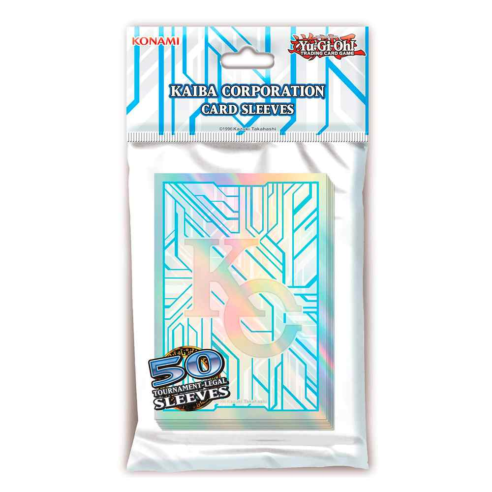 Sleeves Yugioh Kaiba Corporation Protetores