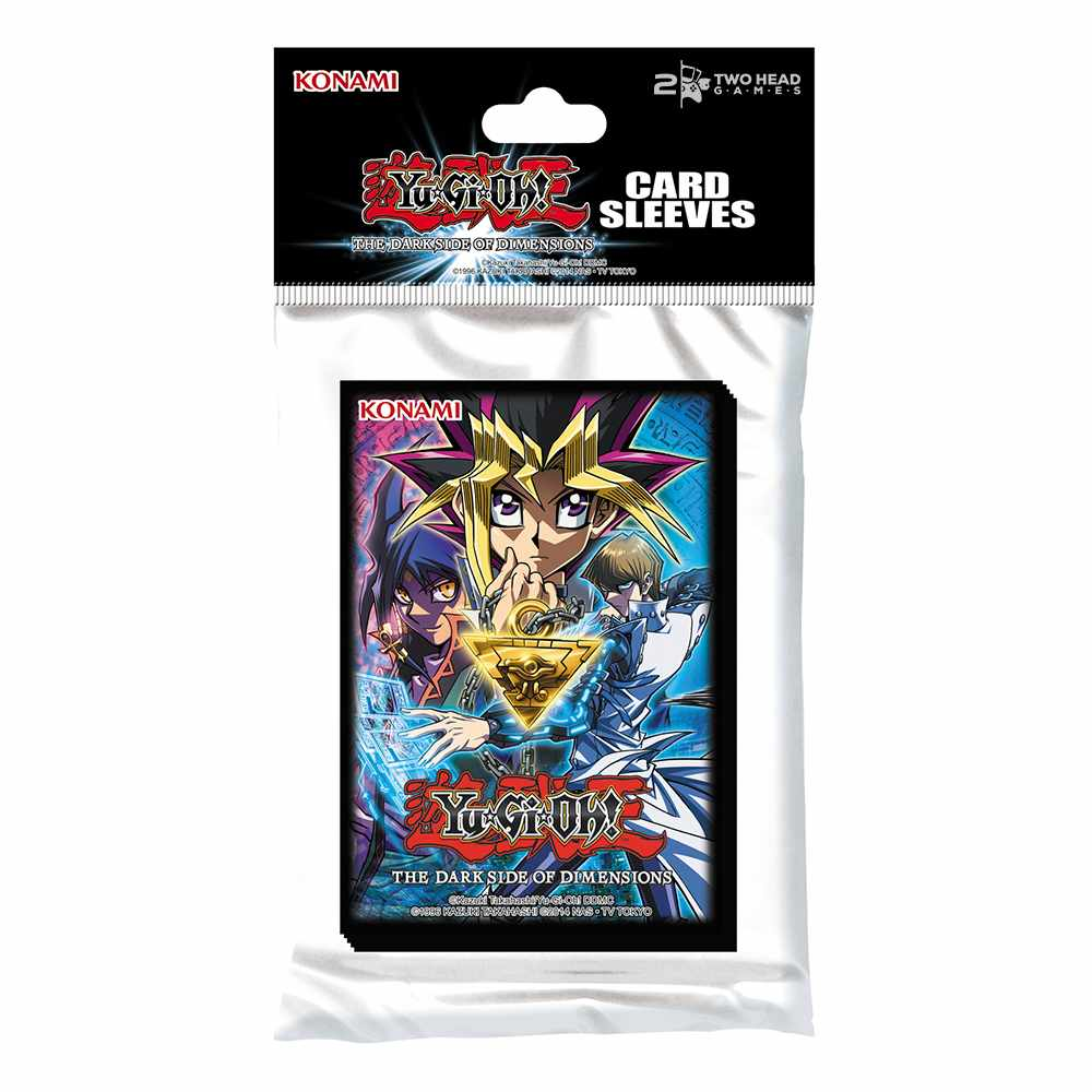 Sleeves Yugioh Movie The Dark Side of Dimensions Protetores
