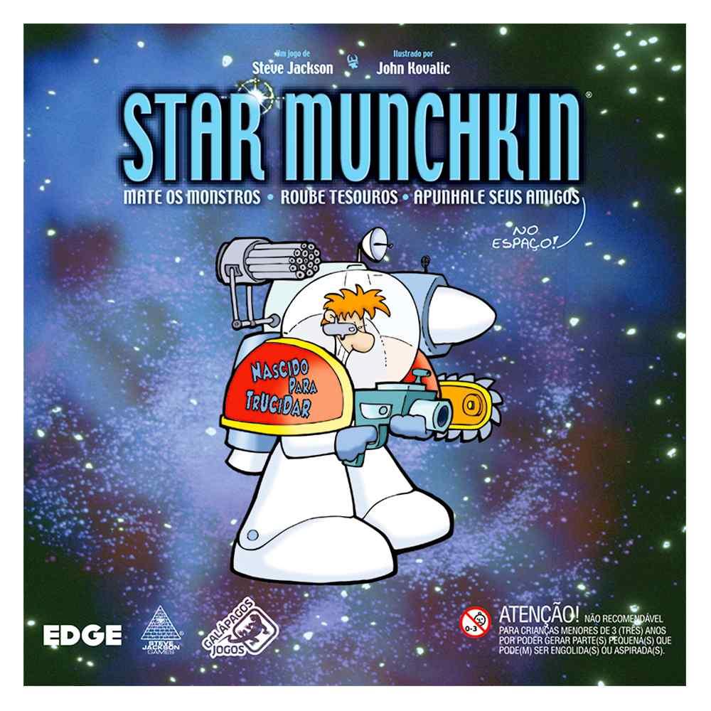 Star Munchkin Jogo de Cartas Galápagos