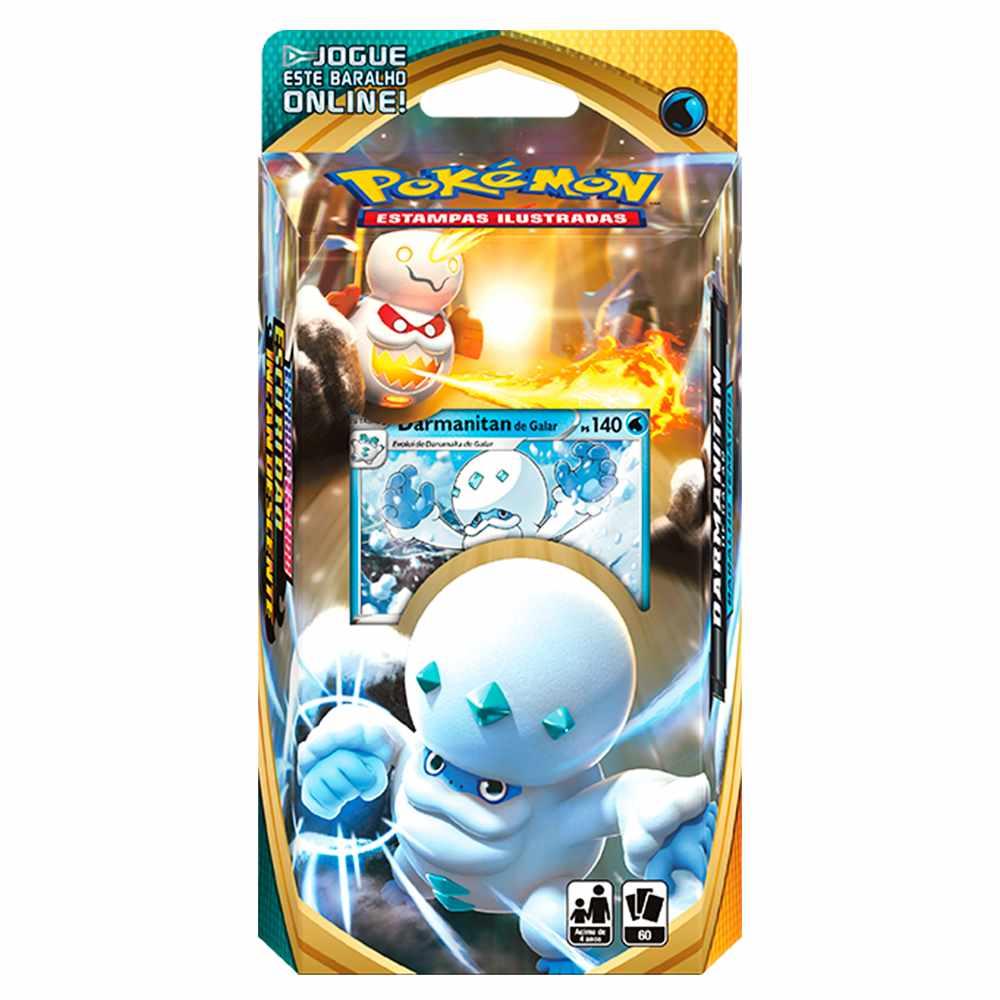 Starter Deck Pokemon Darmanitan De Galar Espada e Escudo 3
