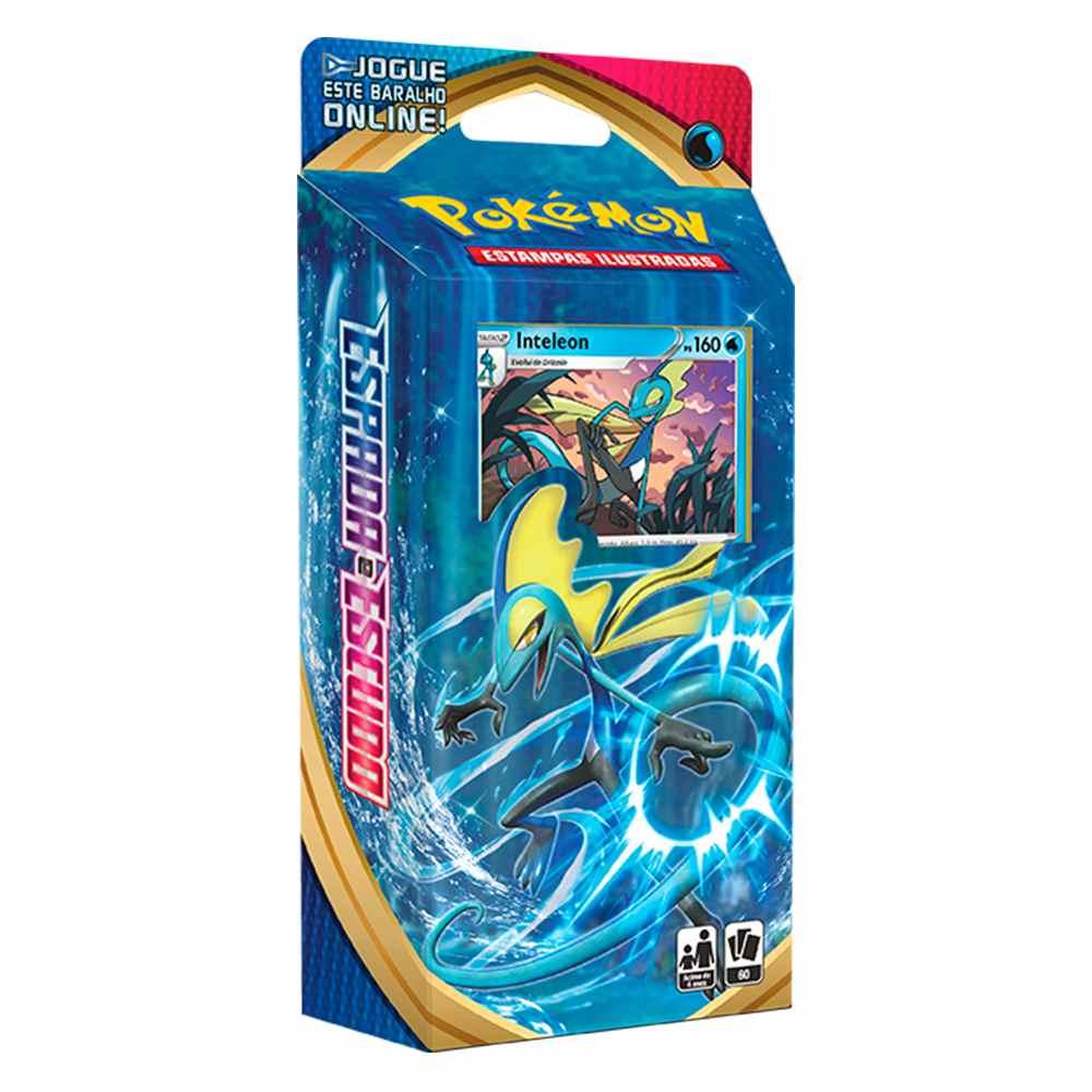 Starter Deck Pokemon Inteleon Espada e Escudo 1