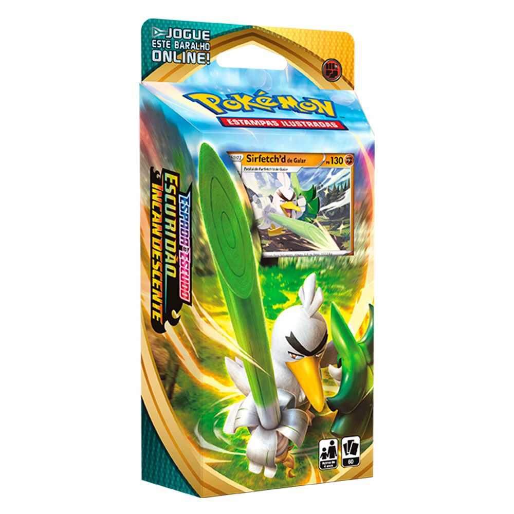 Starter Deck Pokemon Sirfetchd de Galar Espada e Escudo 3