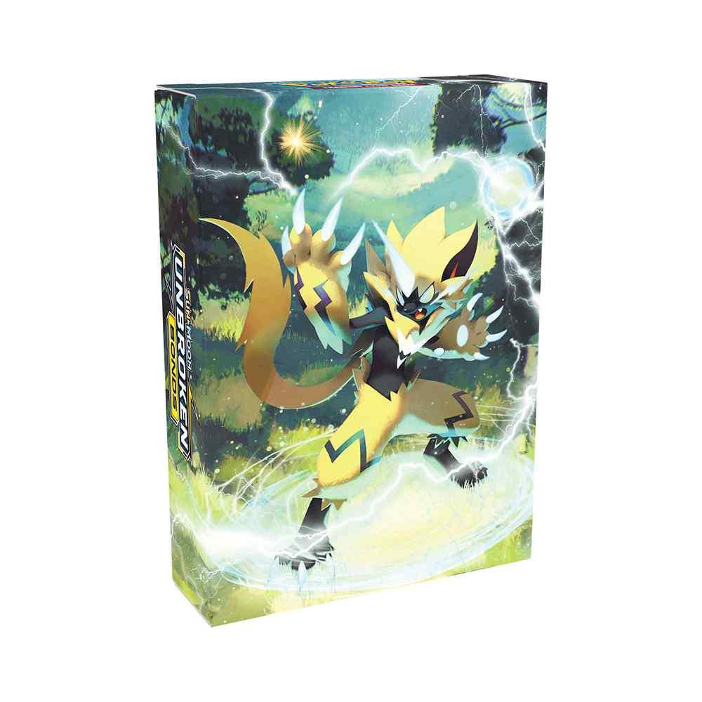 Starter Deck Pokemon Zeraora Sol e Lua 10 Elos Inquebráveis