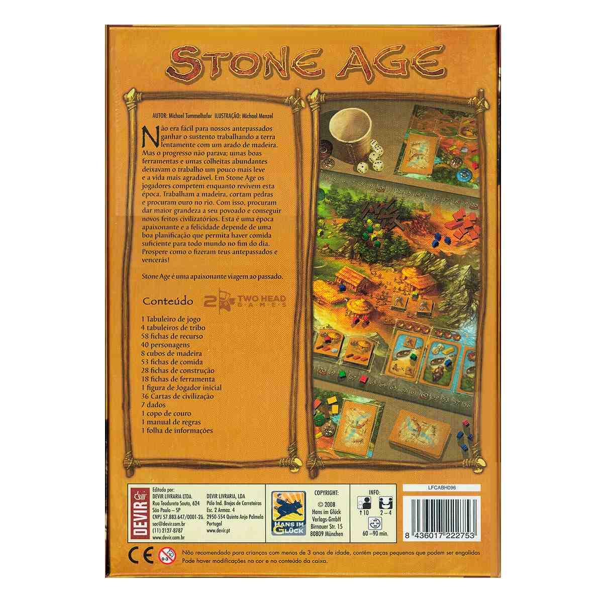 Stone Age Jogo de Tabuleiro