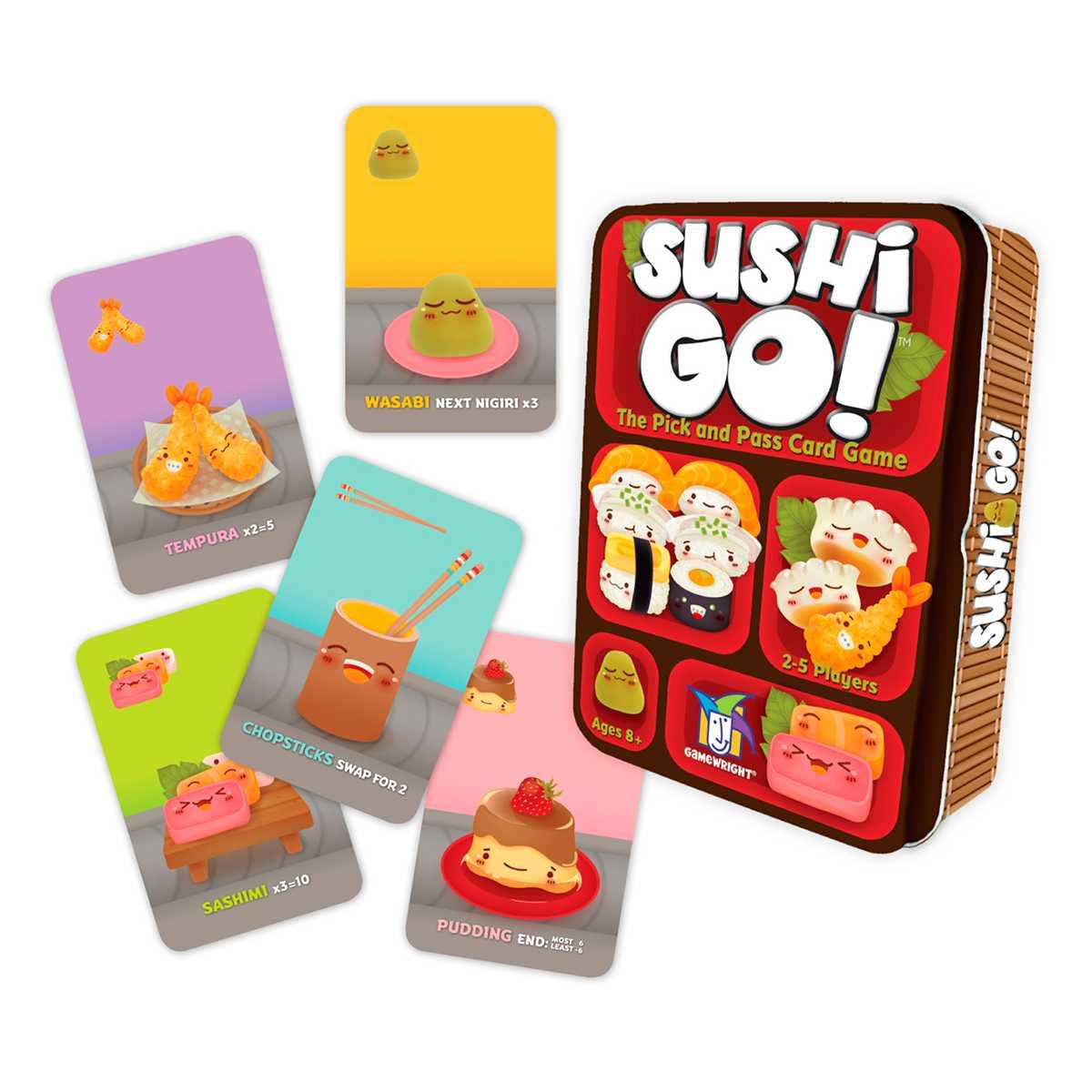 Sushi Go Jogo De Cartas Em Português Devir