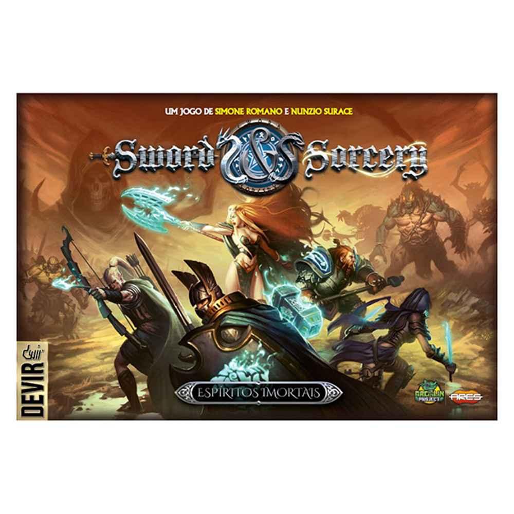 Sword and Sorcery Espíritos Imortais Jogo de Tabuleiro