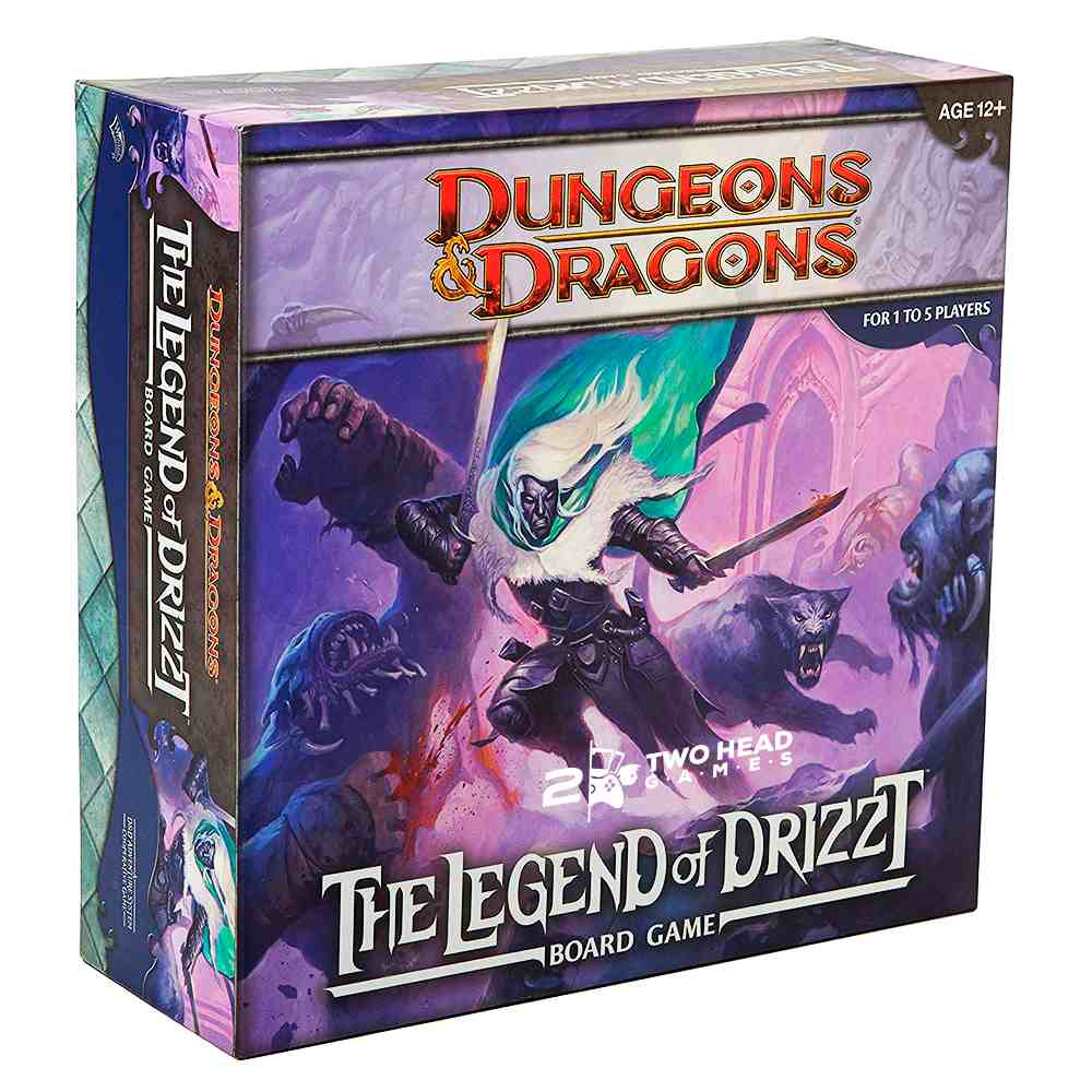 The Legend Of Drizzt Board Game Dungeons and Dragons Hasbro