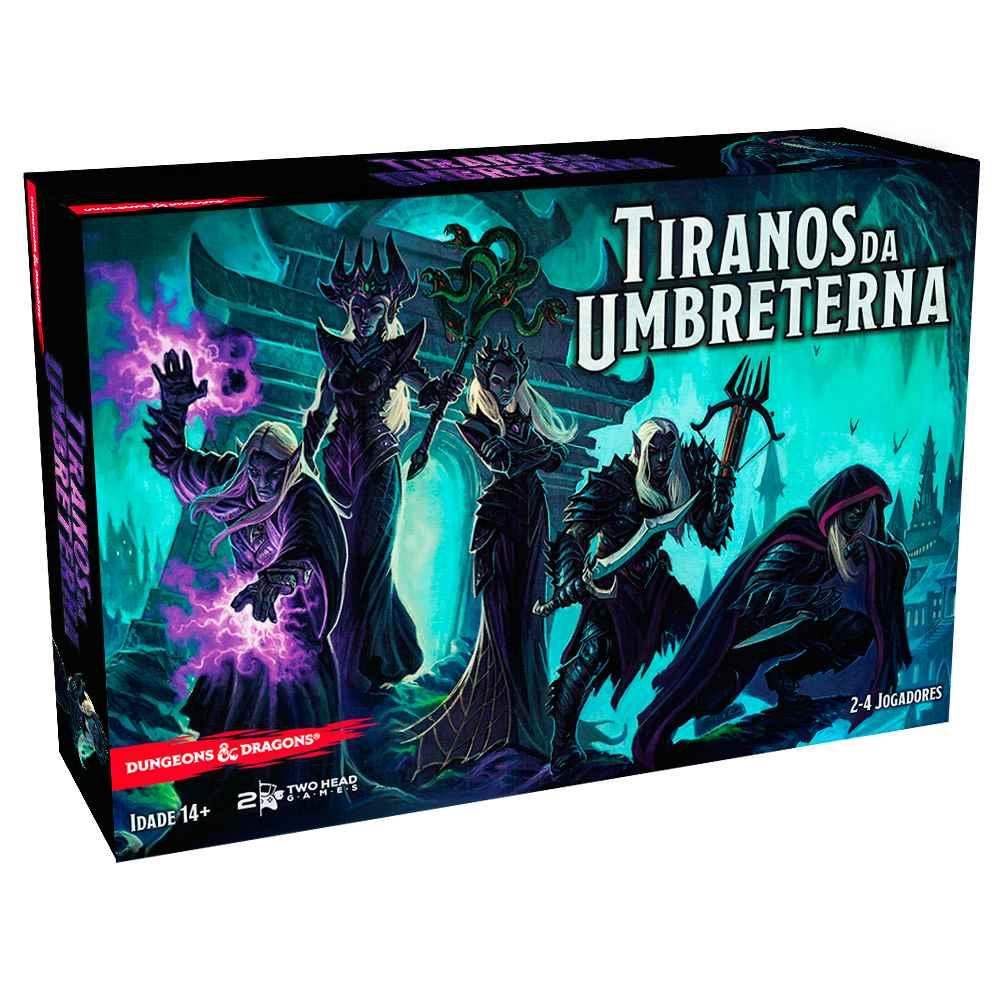 Tiranos da Umbreterna Dungeons Dragons Jogo de Tabuleiro