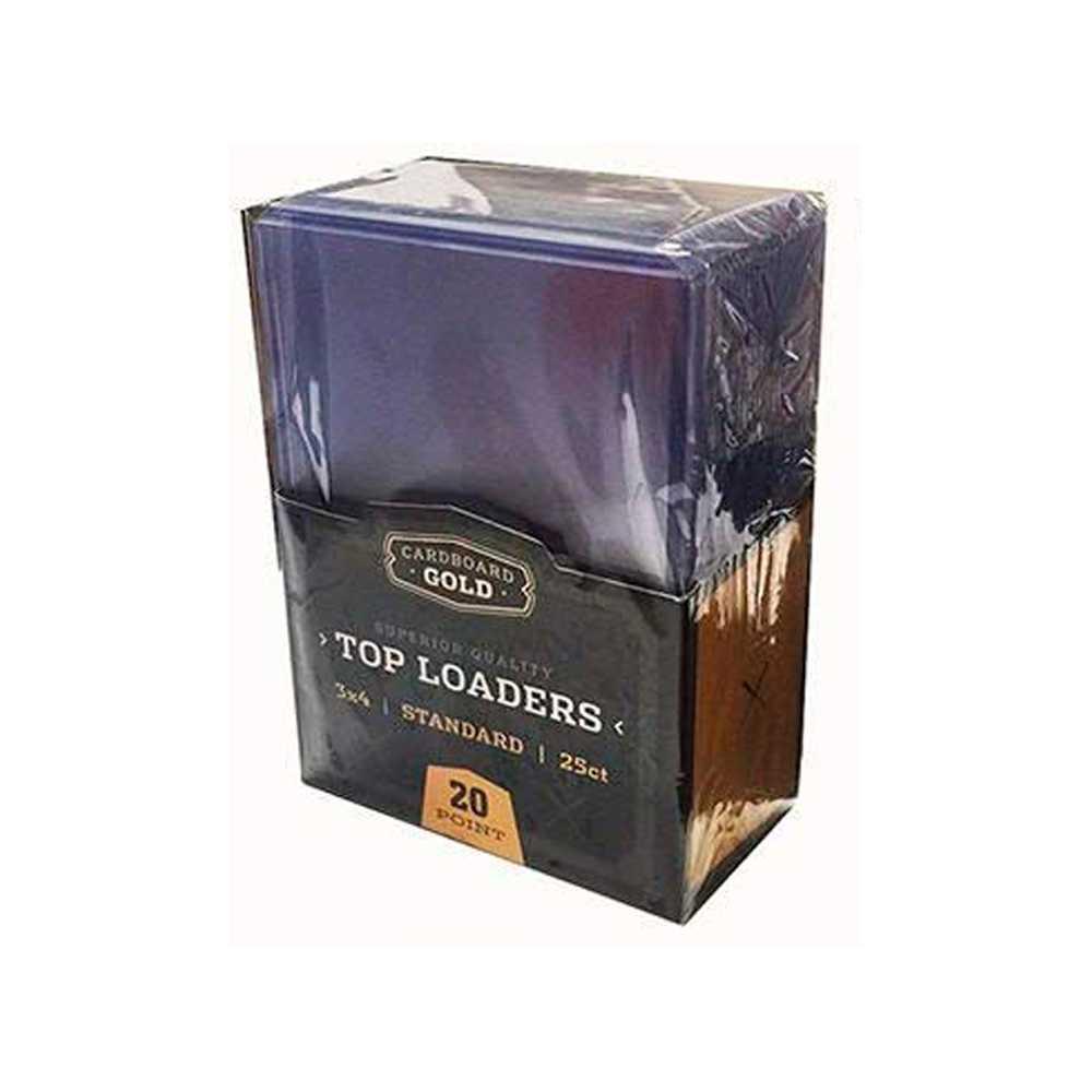 Top Loader Standard 3x4 Cardboard Gold