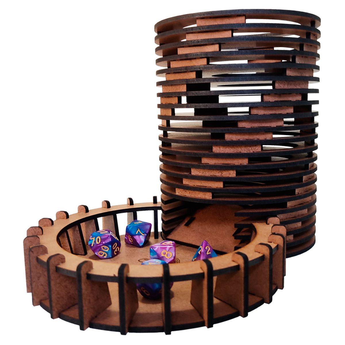 Torre de Dados Espiral Bucaneiros