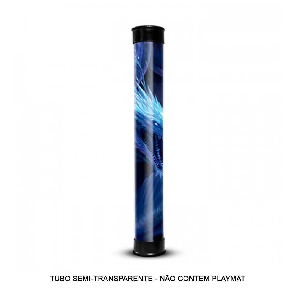 Tubo Para Tapete de Duelo Semi Transparente Central