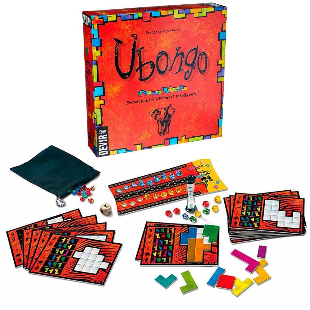 Ubongo Jogo De Tabuleiro Nova Edição