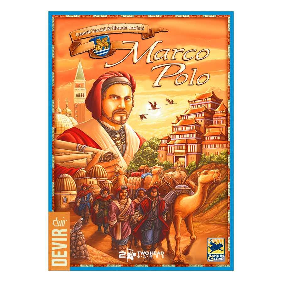 Viagens de Marco Polo Jogo de Tabuleiro