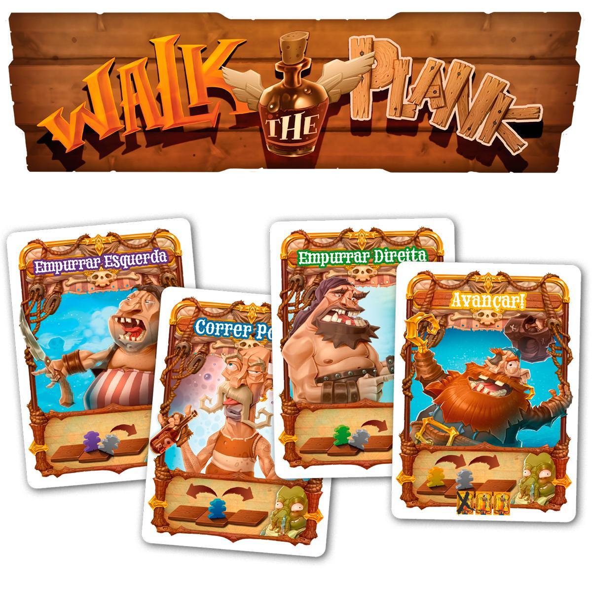 Walk The Plank Jogo de Cartas Paper Games