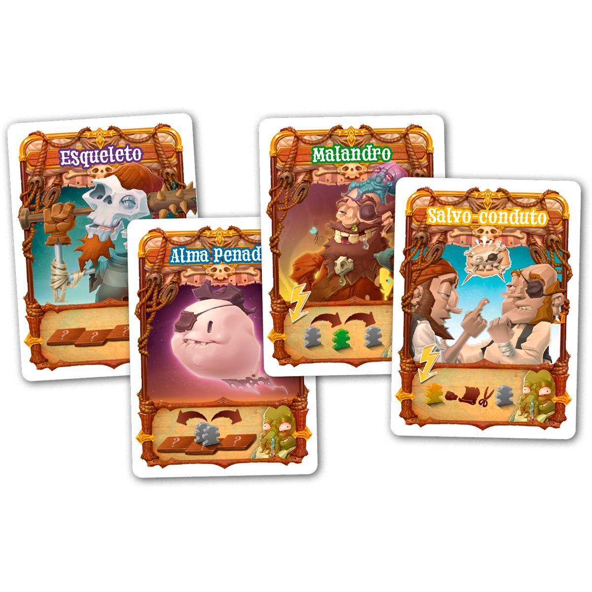 Walk The Plank Piratas Ao Mar Expansão Jogo de Cartas Paper Games