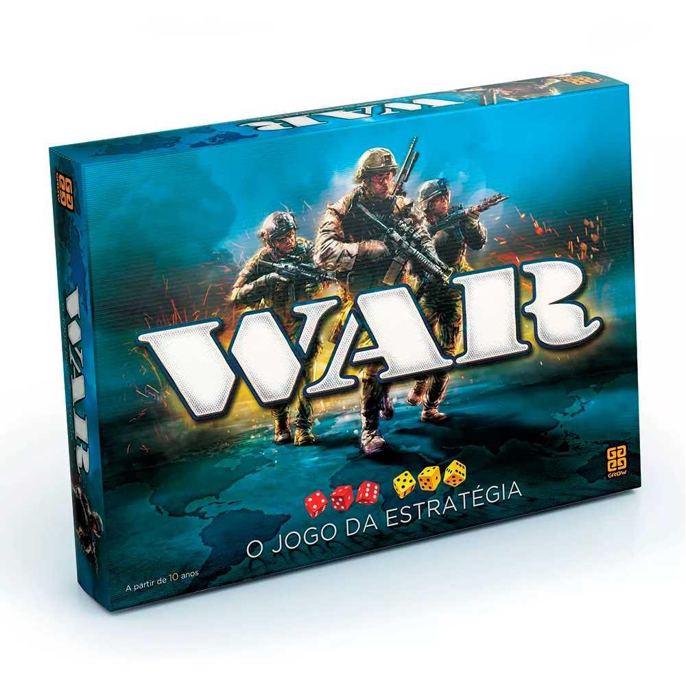 War Tabuleiro O Jogo da Estratégia