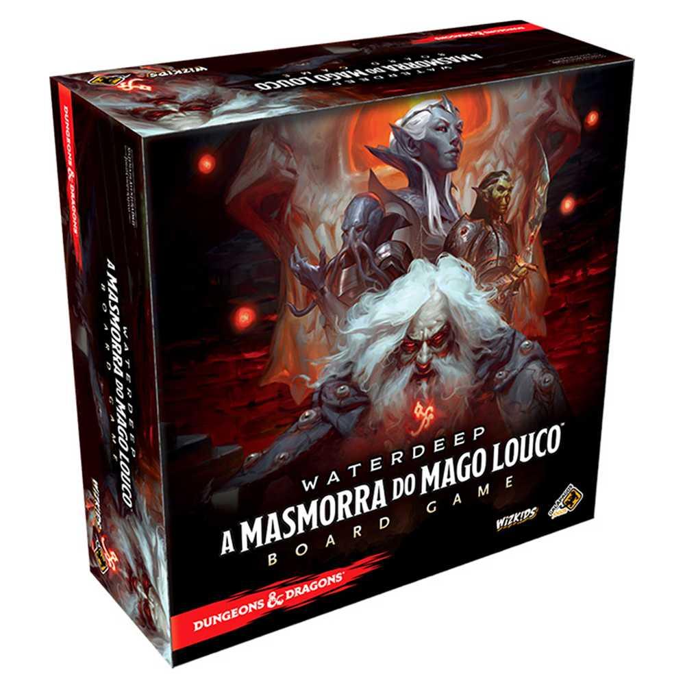 Waterdeep A Masmorra do Mago Louco Board Game Dungeons Dragons
