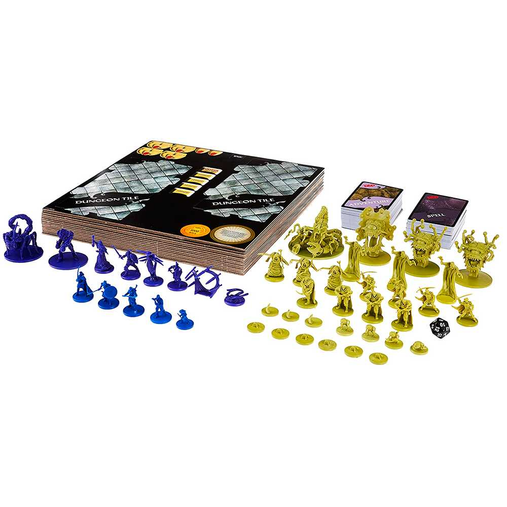 Waterdeep A Masmorra do Mago Louco Board Game Dungeons Dragons