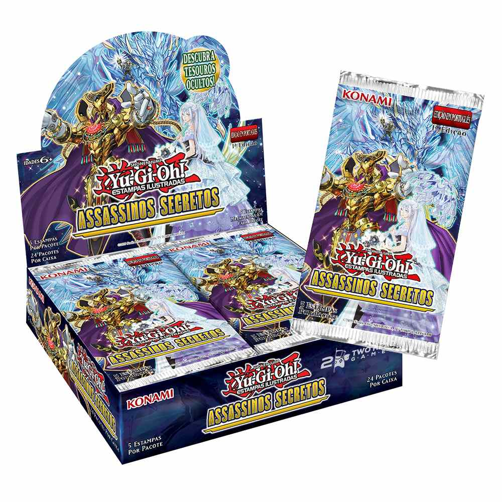 Yugioh Booster Assassinos Secretos - Secret Slayers