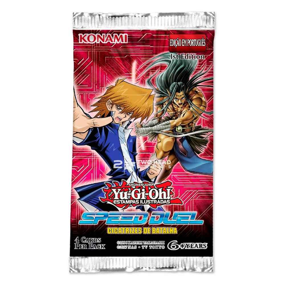 Yugioh Booster Cicatrizes de Batalha Speed Duel
