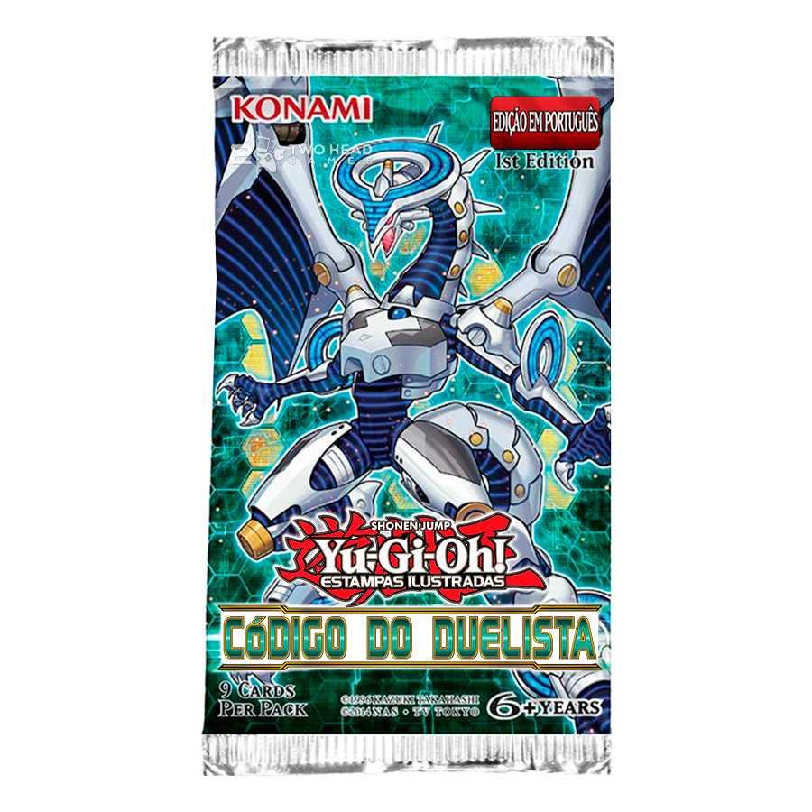 Yugioh Booster Código do Duelista Edição Especial