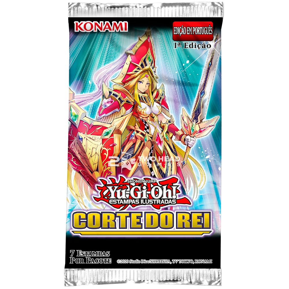 Yugioh Booster Corte do Rei - Kings Court