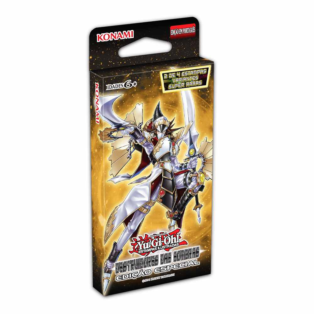 Yugioh Booster Destruidores das Sombras Edição Especial