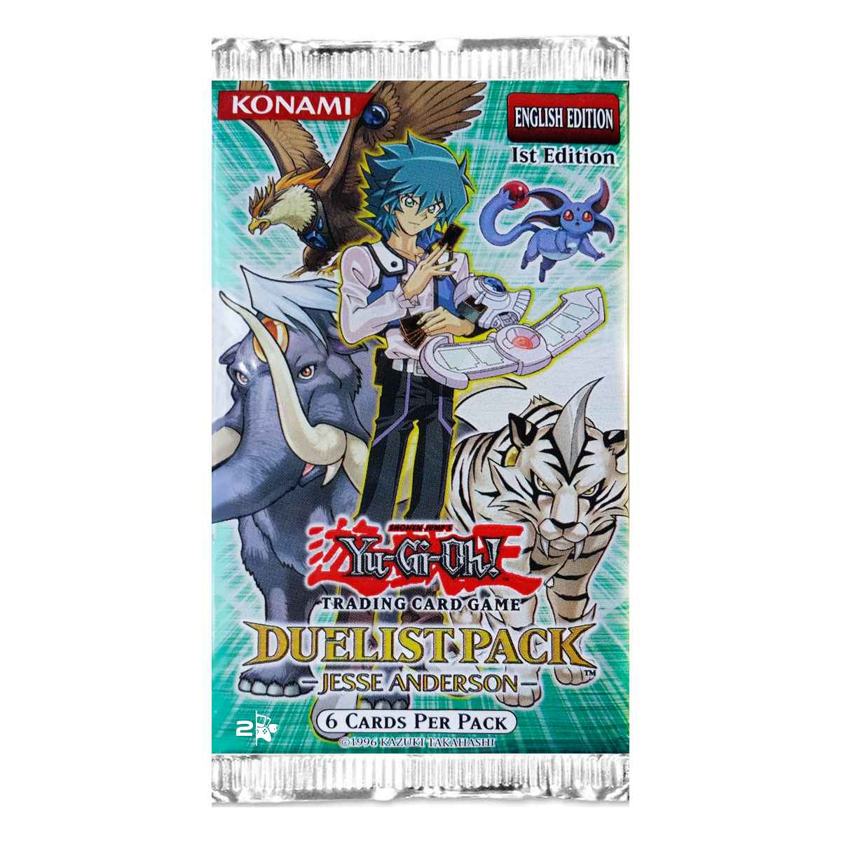 Yugioh Booster Duelist Pack Jesse Anderson GX