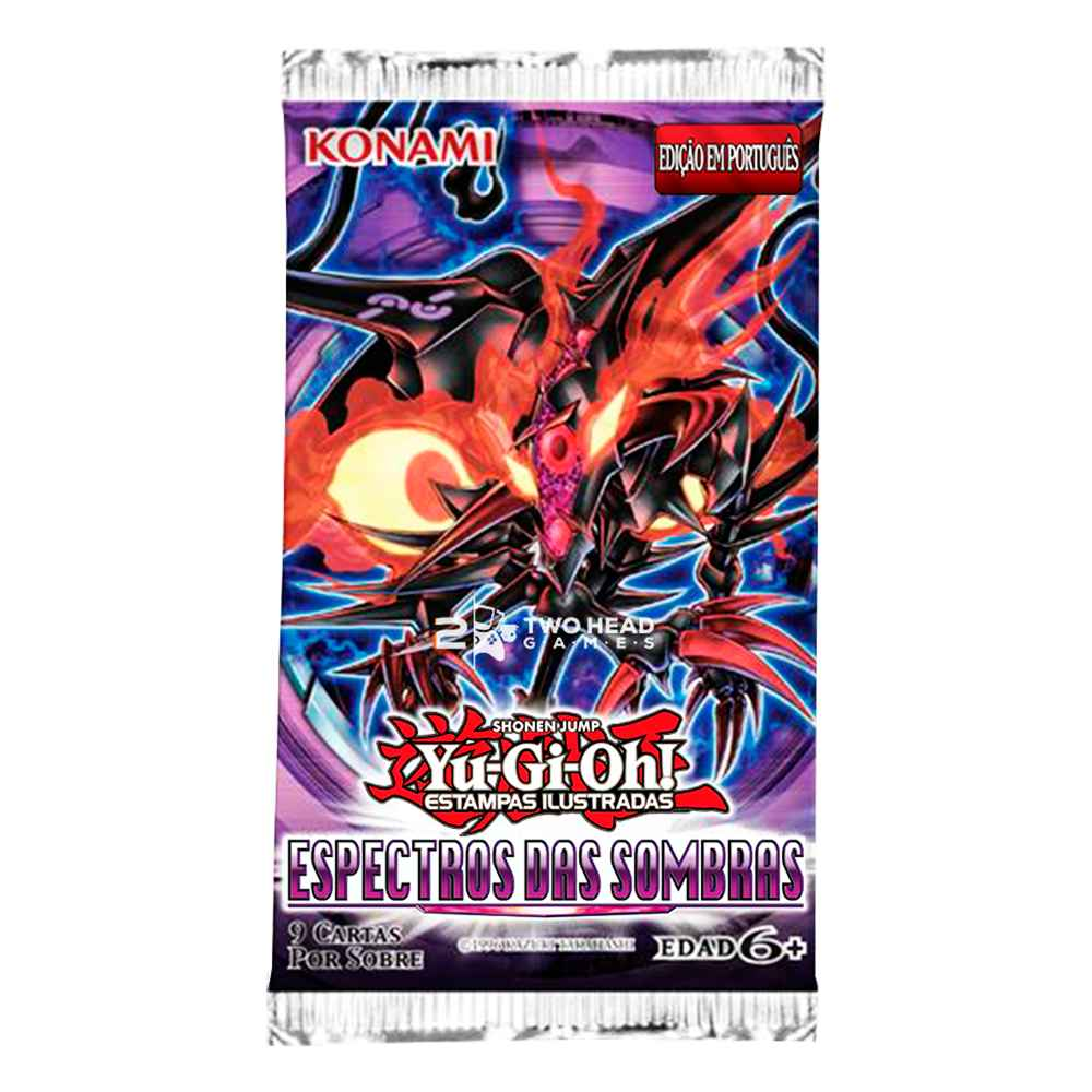 Yugioh Booster Espectro das Sombras - Shadow Specters
