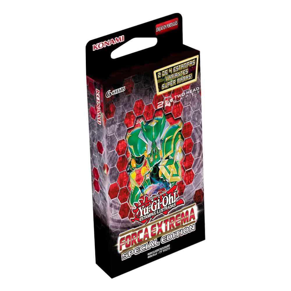 Yugioh Booster Força Extrema Edição Especial