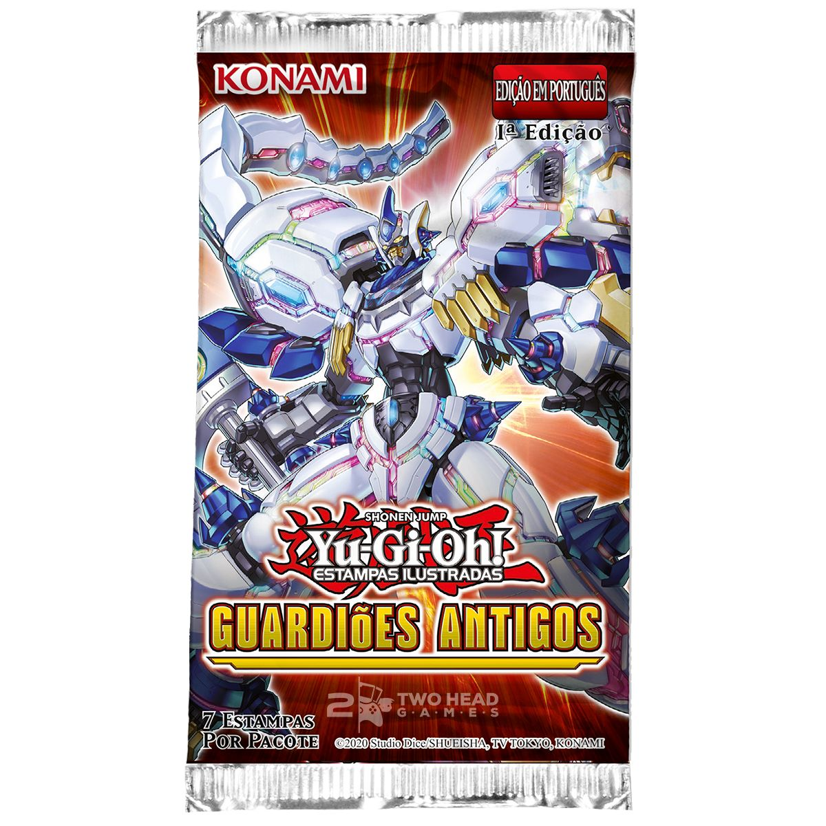 Yugioh Booster Guardiões Antigos - Ancient Guardians