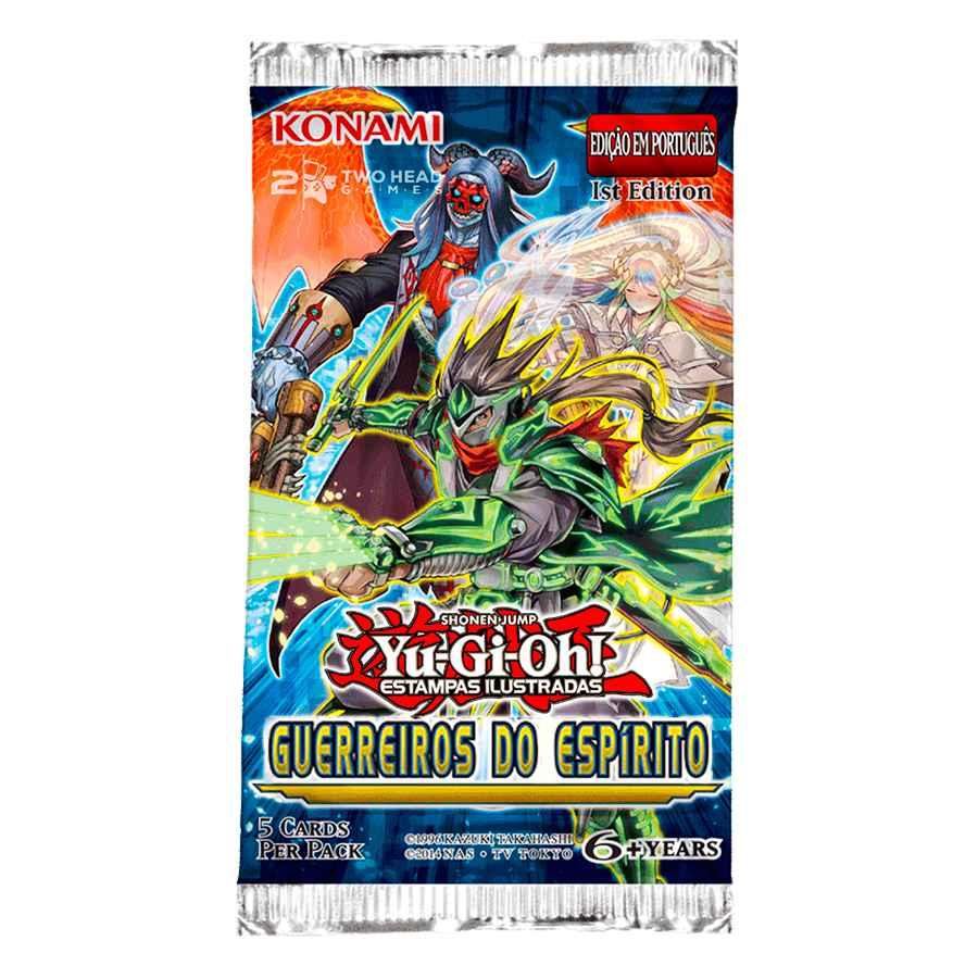 Yugioh Booster Guerreiros do Espírito