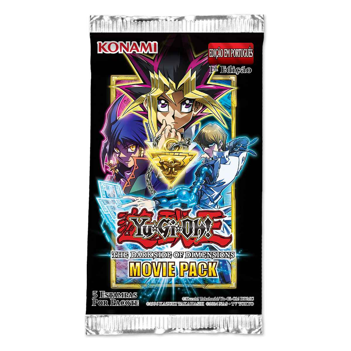 Yugioh Booster Movie Pack The Dark Side of Dimensions