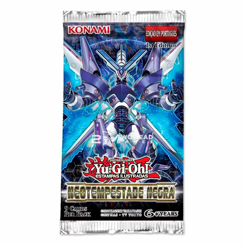 Yugioh Booster Neotempestade Negra - Dark Neostorm